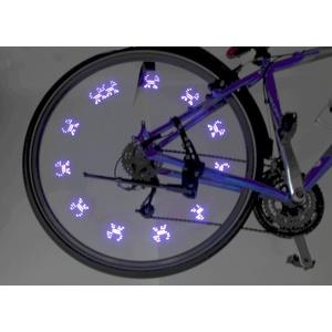 Świecący zawór do rower 7LED 2ks Compass Blue, Compass