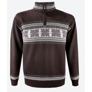 Sweter Kama L139 113 brunatna, Kama