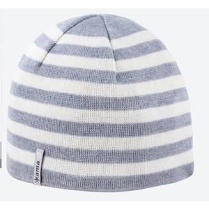 Dzianinowy Merino czapka Kama A122 109 jasno siwy, Kama