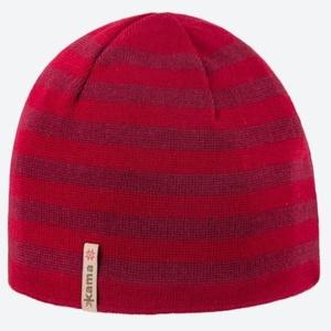 Dzianinowy Merino czapka Kama A122 104 czerwona, Kama