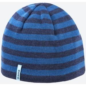 Dzianinowy Merino czapka Kama A122 108 ciemno niebieska, Kama