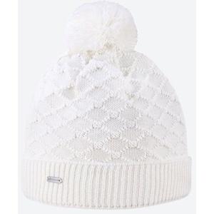 Dzianinowy Merino czapka Kama A124 100 biała, Kama