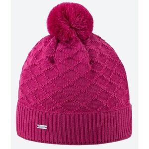 Dzianinowy Merino czapka Kama A124 114 różowa, Kama