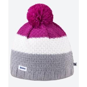 Dzianinowy Merino czapka Kama A126 109 jasno siwy, Kama