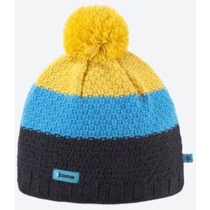 Dzianinowy Merino czapka Kama A126 111 ciemno siwy, Kama