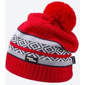 Dzianinowy Merino czapka Kama KW06 104 czerwona, Kama