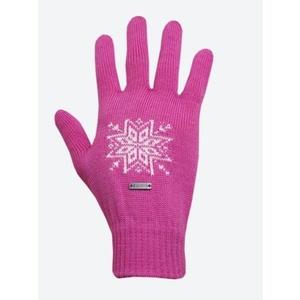 Trykotowy Merino rękawice Kama R104 114 różowa, Kama