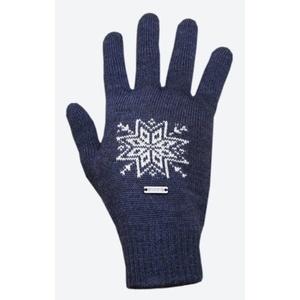 Trykotowy Merino rękawice Kama R104 108 ciemno niebieska, Kama