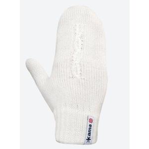 Trykotowy Merino rękawice Kama R105 101 naturalnie biała, Kama