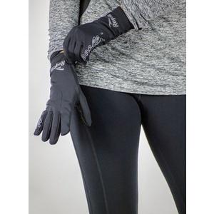 Damskie do biegania zimowy rękawice Rogelli Touch, 890.003. czarne, Rogelli