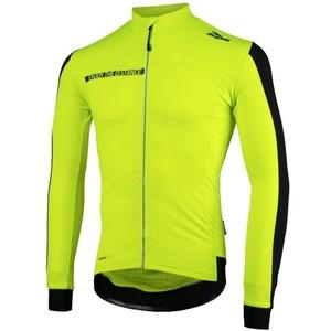 koszulka rowerowa Rogelli AQUABLOC, 001.860. odblaskowy żółto-czarne, Rogelli