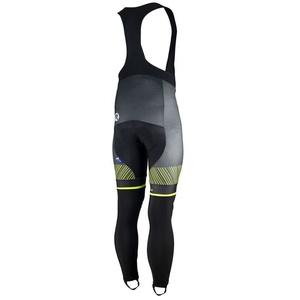 Ekskluzywny rowerowe spodnie Rogelli Ritmo 002.260. czarno-odblaskowa żółte, Rogelli