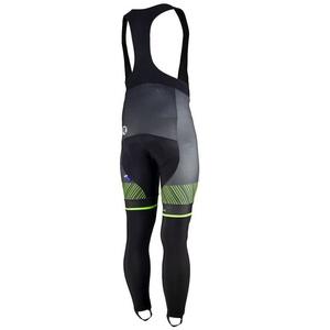 Ekskluzywny rowerowe spodnie Rogelli Ritmo 002.261. czarno- zielone, Rogelli