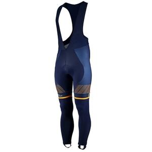 Ekskluzywny rowerowe spodnie Rogelli Ritmo 002.262. niebieski i pomarańczowy, Rogelli