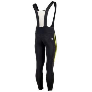 Ocieplone spodnie rowerowe Rogelli Travo 3.0, 002.345. czarno-odblaskowa żółte, Rogelli