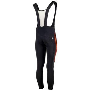 Ocieplone spodnie rowerowe Rogelli Travo 3.0, 002.345. czarno-czerwone, Rogelli