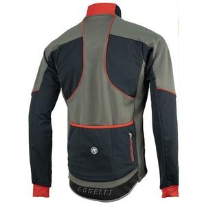 Męska softshellowa kurtka Rogelli TRANI 4.0, 003.122. czarno-czerwony, Rogelli