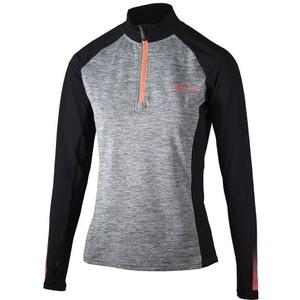 Damska do biegania bluza Rogelli Dynamic, 840.681. szaro-odblaskowe różowa, Rogelli