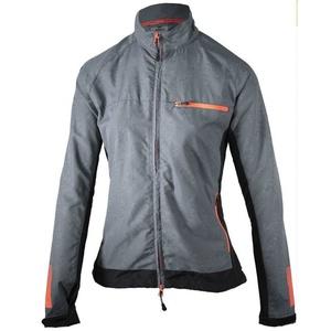 Damska do biegania kurtka Rogelli Dynamic, 840.881. czarno-szaro-różowy, Rogelli