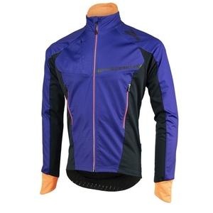 Męska softshellowa kurtka Rogelli Contento, 003.141 niebiesko-czarno-pomarańczowy, Rogelli