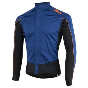 koszulka rowerowa Rogelli W2, 001.851. niebiesko-pomarańczowy, Rogelli
