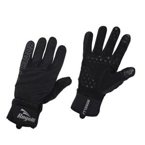 Męskie rowerowe rękawice Rogelli Storm, 006.124. czarne, Rogelli