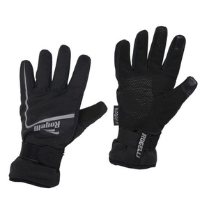 Męskie rowerowe rękawice Rogelli Shield, 006.128. czarne, Rogelli