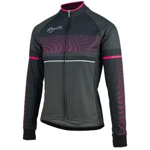 Damski koszulka rowerowa Rogelli Bella, 010.158. czarno-różowy, Rogelli
