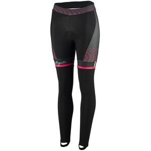 Damskie rowerowe spodnie Rogelli Bella, 010.253. czarno-różowy, Rogelli