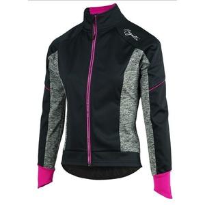 Damska rowerowa kurtka Rogelli Carlyn 2.0, 010.306. czarno-szaro-różowy, Rogelli