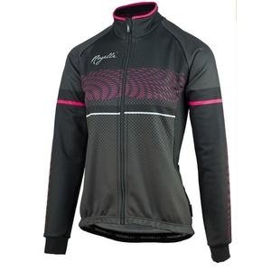 Damska softshellowa kurtka rowerowa Rogelli Bella, 010.336.černo-růžová, Rogelli