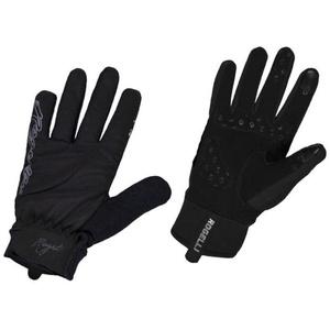 Damskie rowerowe rękawice Rogelli Storm, 010.655. czarne, Rogelli