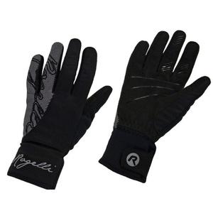 Damskie rowerowe rękawice Rogelli Flash, 010.660. czarne, Rogelli