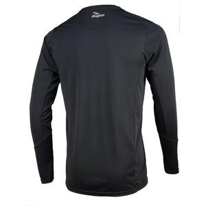 Sportowe funkcjonalne koszulka Rogelli BASIC z długim rękawem, 800.261. czarne, Rogelli