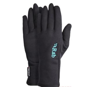 Rękawice Rab Powerstretch Pro Glove Women's black/BL, Rab