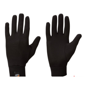 Rękawice Lowe Alpine Silkwarm Glove black/BL, Lowe alpine
