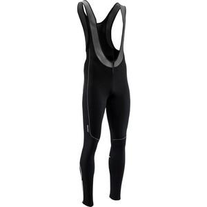 Męskie elastyczne zimowy spodnie Silvini RUBENZA MP1317 black, Silvini