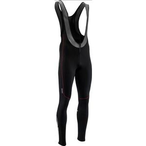 Męskie elastyczne zimowy spodnie Silvini RUBENZA MP1317 black red, Silvini