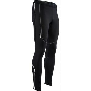 Męskie elastyczne ocieplane spodnie Silvini RUBENZA MP1313 black, Silvini