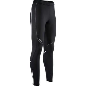 Damskie elastyczne ocieplane spodnie Silvini RUBENZA WP1315 black