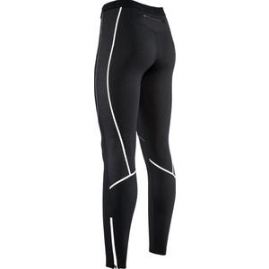 Damskie elastyczne ocieplane spodnie z wkładka rowerowa Silvini RUBENZA WP1315 black, Silvini