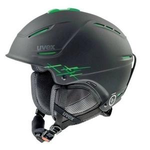 Narciarska kask UVEX P1US PRO, black-green mat (S566156270*), Uvex