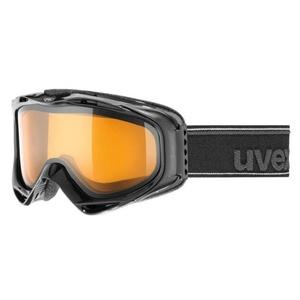 Narciarskie okulary UVEX G.GL 300, black double lens/lasergold lite (2029), Uvex