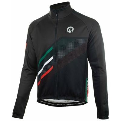 Membranowa rowerowa kurtka Rogelli TEAM 2.0, czarny 003.961, Rogelli