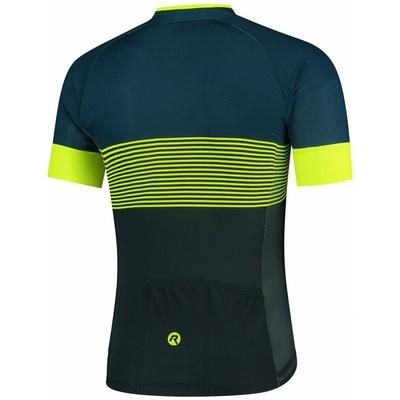 Aerodynamiczny koszulka rowerowa Rogelli BOOST z krótkim rękawem, odblaskowy żółty 001.118, Rogelli