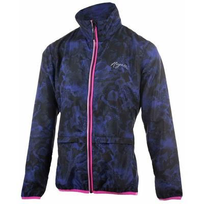Damska do biegania kurtka Rogelli COSMIC, czarno-niebiesko-różowy 840.866, Rogelli