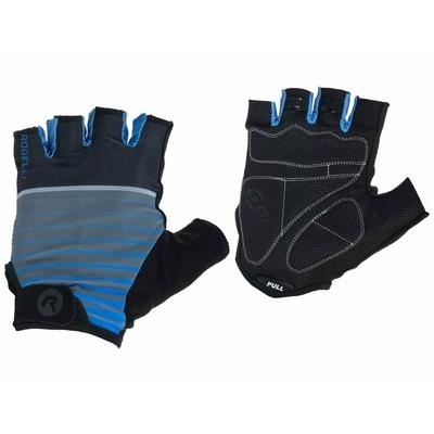 Rekawice rowerowe Rogelli HERO, czarno-niebieski 006.962, Rogelli