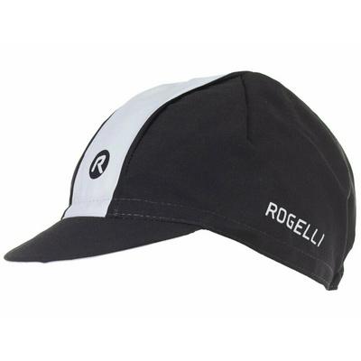 Rowerowa czapka z daszkiem pod kask Rogelli RETRO, czarno-biały 009.966, Rogelli