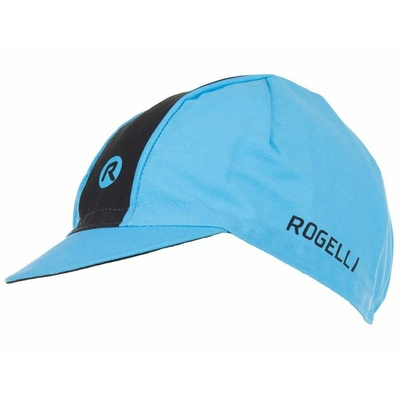Rowerowa czapka z daszkiem pod kask Rogelli RETRO, niebiesko-czarny 009.968, Rogelli