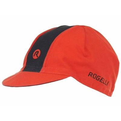 Rowerowa czapka z daszkiem pod kask Rogelli RETRO, czerwono-czarny 009.969, Rogelli